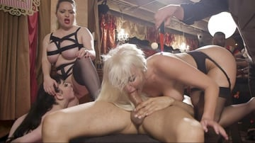 Aiden Starr - Anal MILF And Busty Teen Service The BDSM Swinger Orgy