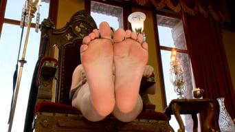 Aiden Starr in 'FemDom Foot Fetish POV'