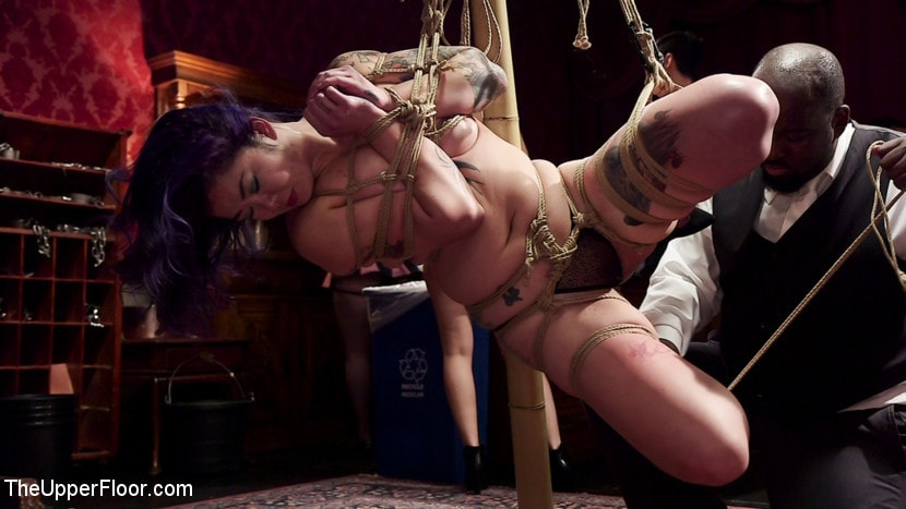 Kink 'Holiday BDSM Slut Orgy turns Fangirl to Sex Slave' starring Aiden Starr (Photo 3)