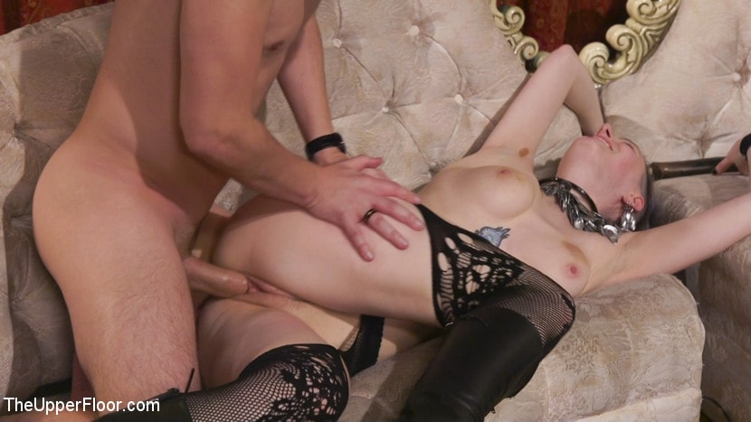 Kink 'Holiday BDSM Slut Orgy turns Fangirl to Sex Slave' starring Aiden Starr (Photo 5)