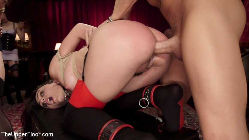Kink 'Holiday BDSM Slut Orgy turns Fangirl to Sex Slave' starring Aiden Starr (Photo 21)