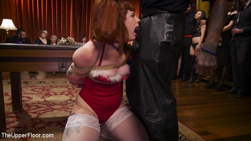 Kink 'Holiday BDSM Slut Orgy turns Fangirl to Sex Slave' starring Aiden Starr (Photo 25)