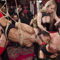 Aiden Starr in 'Kink' Nympho Slave Slut Soaks The Folsom Orgy with Squirt (Thumbnail 3)