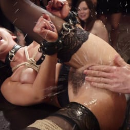 Aiden Starr in 'Kink' Nympho Slave Slut Soaks The Folsom Orgy with Squirt (Thumbnail 9)
