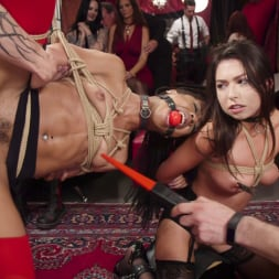 Aiden Starr in 'Kink' Nympho Slave Slut Soaks The Folsom Orgy with Squirt (Thumbnail 17)