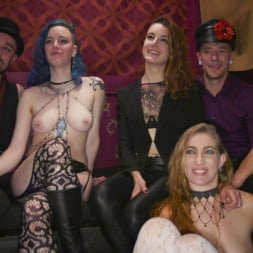 Aiden Starr in 'Kink' Nympho Slave Slut Soaks The Folsom Orgy with Squirt (Thumbnail 19)
