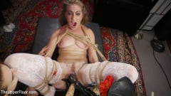 Aiden Starr - Nympho Slave Slut Soaks The Folsom Orgy with Squirt (Thumb 05)