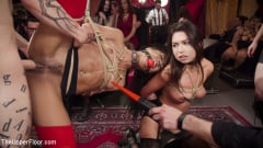 Aiden Starr - Nympho Slave Slut Soaks The Folsom Orgy with Squirt (Thumb 17)
