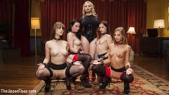 Aiden Starr - The Steward's Birthday Slave Orgy (Thumb 04)