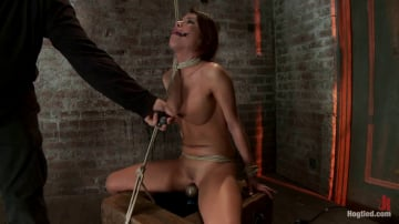 Aleksa Nicole - 1 of Porns Hottest Bodies steps into the dark world of BDSM. Someone stepped into the wrong basement