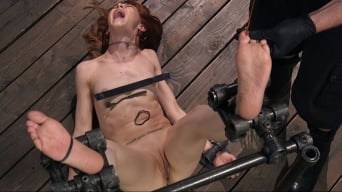 Alexa Nova in 'Petite Slave Alexa Nova Locked in Metal Bondage and Tormented Orgasms'