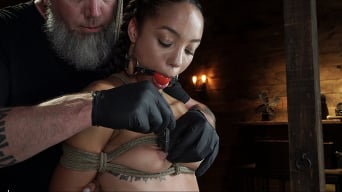 Alexis Tae en 'Alexis Tae's First Time Being tormented in Grueling Bondage'