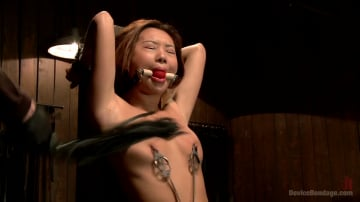 Alina Li - Petite Asian Bondage Virgin, Gets a Dose of Suffering