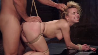 Alina West in 'Anal Slut Trained in Hard Bondage: Alina West Day Two'