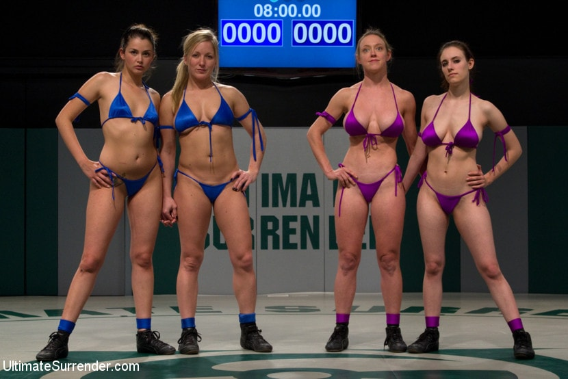 Kink 'First Match of the 2011 Tag Team League!: The Goddesses vs Team Ice In front of a LIVE audience!' starring Allie Haze (Photo 2)