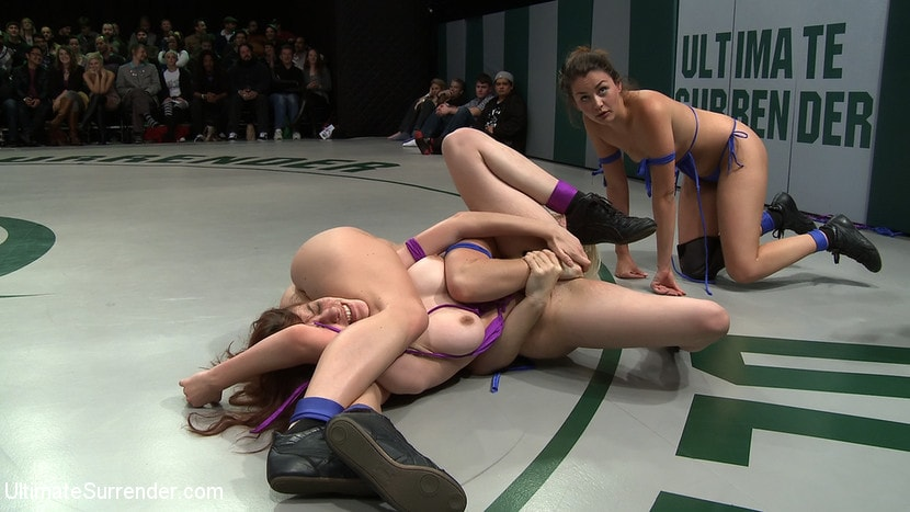 Kink 'First Match of the 2011 Tag Team League!: The Goddesses vs Team Ice In front of a LIVE audience!' starring Allie Haze (Photo 18)