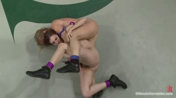 Allie Haze - First Match of the 2011 Tag Team League!: The Goddesses vs Team Ice In front of a LIVE audience!