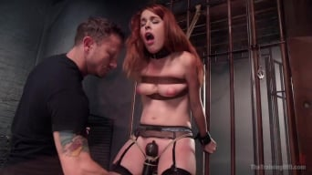 Amarna Miller in 'Redhead Spanish Slave Training - Amarna Miller Day 3'