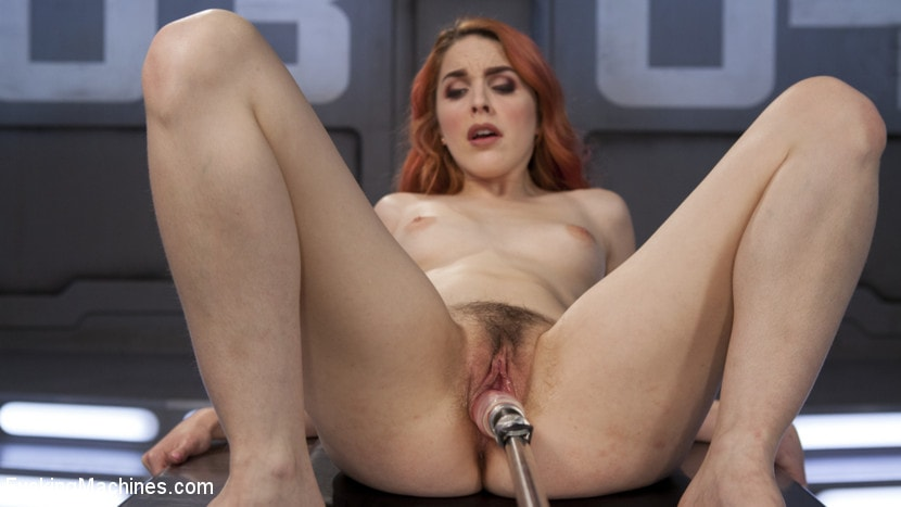 Kink 'Spanish Red Head Machined Fucked Into Uncontrollable Orgasms!!' starring Amarna Miller (Photo 6)