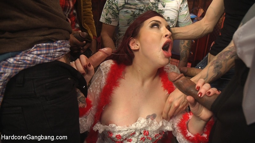 Kink 'Damn Fine Pie! A Twin Peaks Parody Gangbang' starring Amber Ivy (Photo 6)
