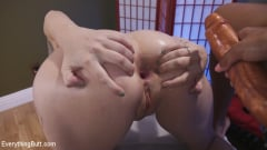 Amber Ivy - Masseuse Sniffs too much ass and gets Anal Punishment for it. (Thumb 11)