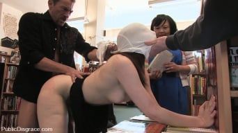 Amber Keen in 'Redheaded bookworm gets humiliated and fucked in a bookstore!'