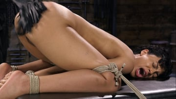 Amethyst Banks - Exotic Newbie Gets Tied and Tormented at the Hands of The Pope