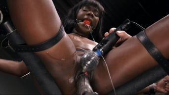 Ana Foxxx in 'is Machine Fucked, Flogged, Shocked And Made to CUM'