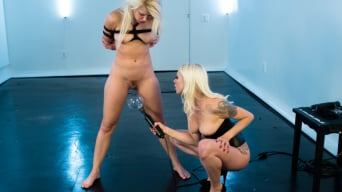 Anikka Albrite in 'Blonde on blonde Electric play! Anikka is just a toy to be played with'