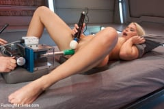 Anikka Albrite - Super Blond: Annika Albright and her AWESOME Body Fuck Machines (Thumb 11)