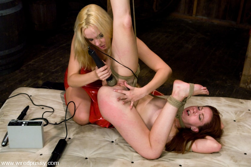Kink 'Trinity's first time with Electricity!!' starring Annette Schwarz (Photo 5)