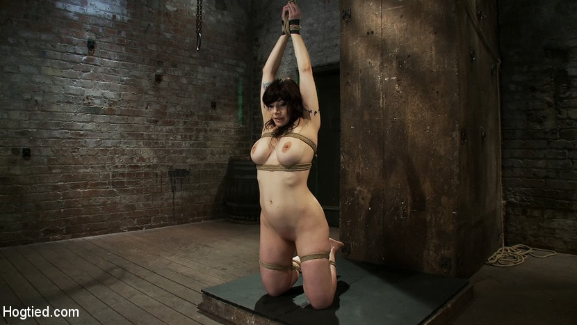 Kink 'Actual member of the site applies to model and is accepted. This big titted MILF is bound and abused.' starring Annika (Photo 9)