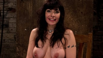Annika in 'Actual member of the site applies to model and is accepted. This big titted MILF is bound and abused.'