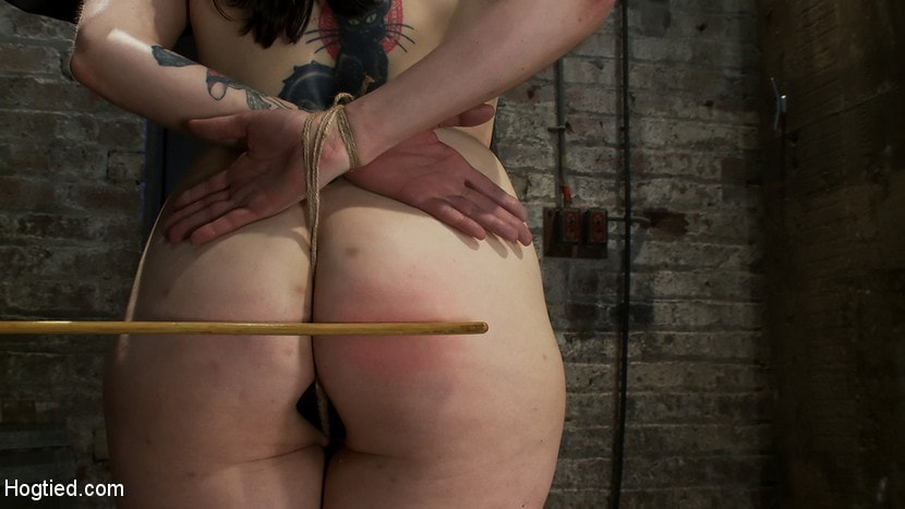 Kink 'Hot busty lifestyle MILF is severely bound with only baling twine Bondage hurts, this is brutal.' starring Annika (Photo 11)