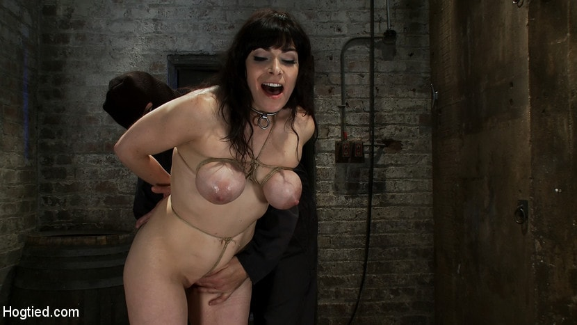 Kink 'Hot busty lifestyle MILF is severely bound with only baling twine Bondage hurts, this is brutal.' starring Annika (Photo 12)