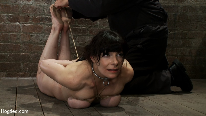 Kink 'Hot busty lifestyle MILF is severely bound with only baling twine Bondage hurts, this is brutal.' starring Annika (Photo 13)