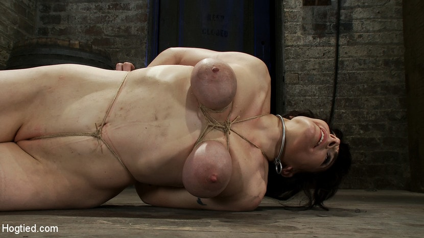 Kink 'Hot busty lifestyle MILF is severely bound with only baling twine Bondage hurts, this is brutal.' starring Annika (Photo 15)