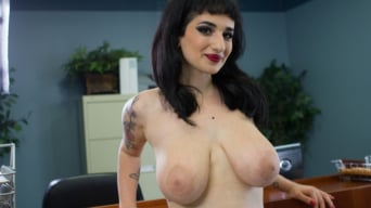 Arabelle Raphael in '5150 - Goth babe with huge natural tits and suicidal tendencies'