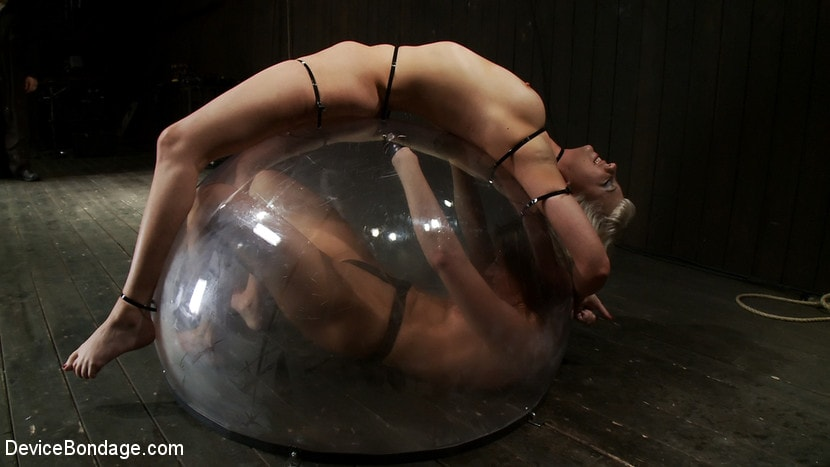 Kink 'Electrified Ariel X, Tied down Cherry Torn: The Dome' starring Ariel X (Photo 5)