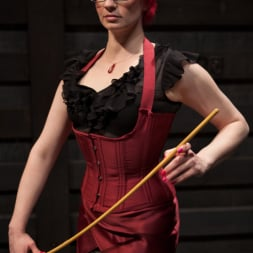 Ariel X in 'Kink' Lesbian 5 Slave Training Intake Featured Trainer Claire Adams (Thumbnail 1)
