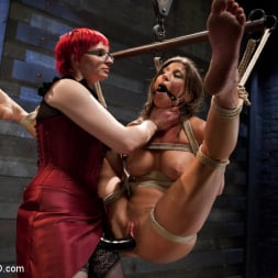 Ariel X in 'Kink' Lesbian 5 Slave Training Intake Featured Trainer Claire Adams (Thumbnail 2)