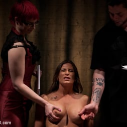 Ariel X in 'Kink' Lesbian 5 Slave Training Intake Featured Trainer Claire Adams (Thumbnail 4)
