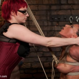 Ariel X in 'Kink' Lesbian 5 Slave Training Intake Featured Trainer Claire Adams (Thumbnail 9)