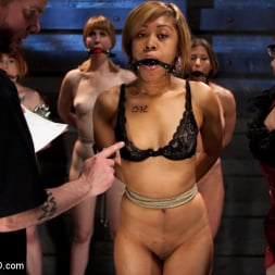 Ariel X in 'Kink' Lesbian 5 Slave Training Intake Featured Trainer Claire Adams (Thumbnail 21)
