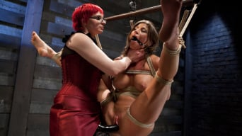 Ariel X in 'Lesbian 5 Slave Training Intake Featured Trainer Claire Adams'