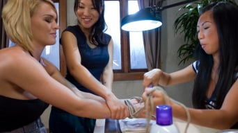 Asa Akira in 'Fantasy RolePlay Update: Asa Akira and Tia Ling play two pissed off manicurists who take revenge on'