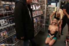 Ash Hollywood - Hot Blonde Fucked and Humiliated in Public (Thumb 12)