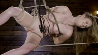 Ashley Lane in 'Hardcore Bondage and Domination Makes Ashley Lane A Happy Slut!'