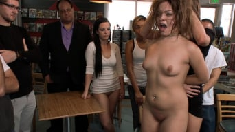 Ashlynn Leigh in 'Adorable 19 Year old Disgraced in Comic Book Store'