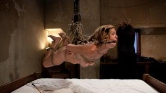Audrey Rose in 'Helpless Blonde in hogtie struggling through orgasm after orgasm.'